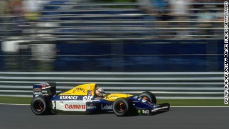 Williams FW14B фото