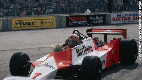 McLaren MP 4/1 фото