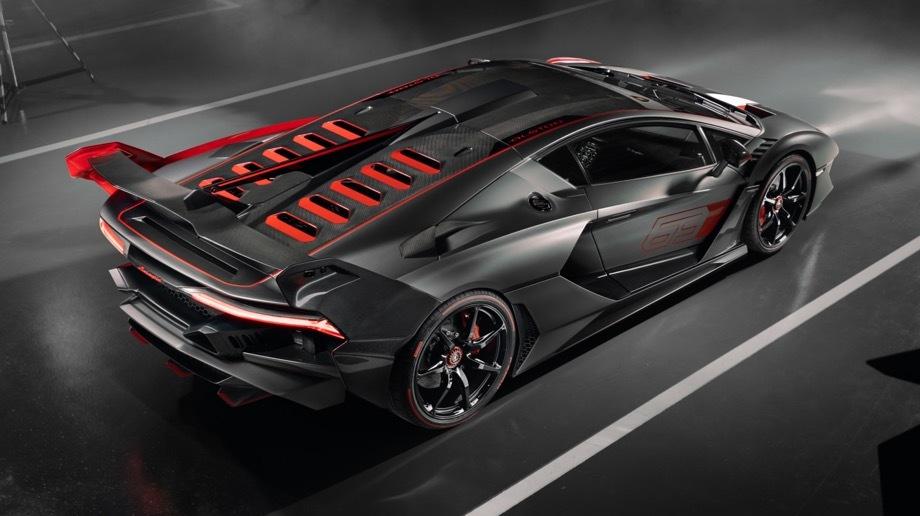Lamborghini SC18 фото