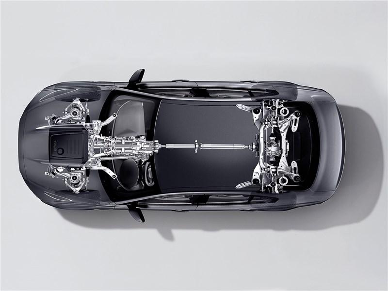 шасси Jaguar XE