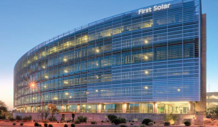 рост First Solar