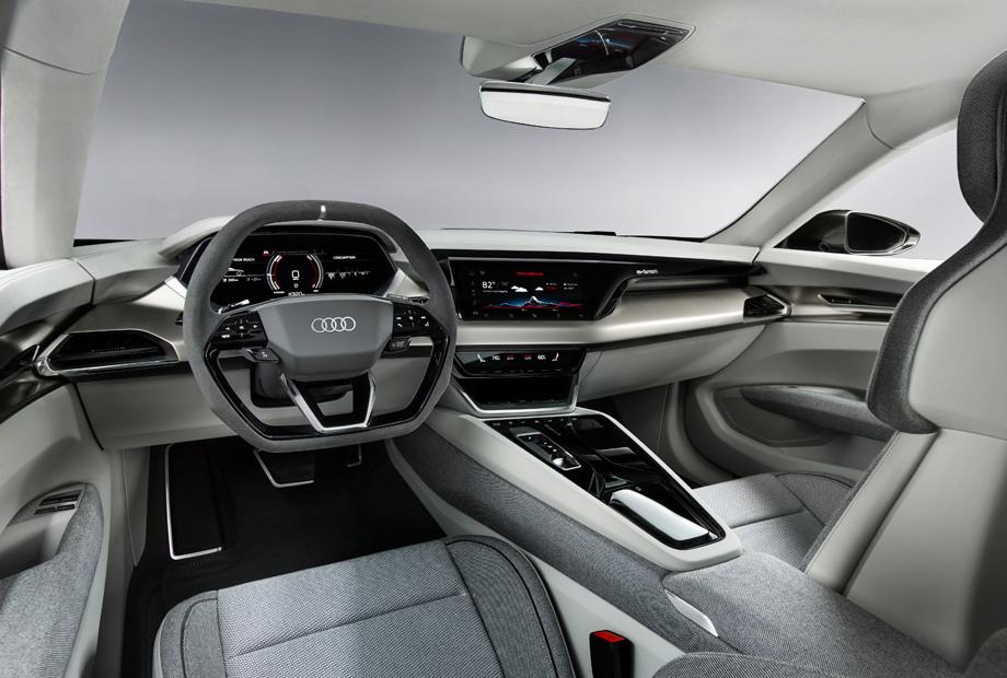 Audi e-tron GT на базе порше