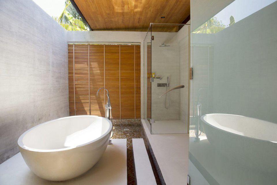 Ванная комната виллы Геко
