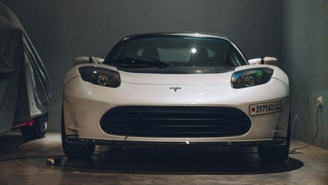 электровоз от Tesla