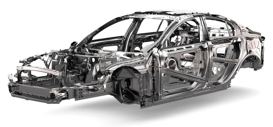 кузов Jaguar XE