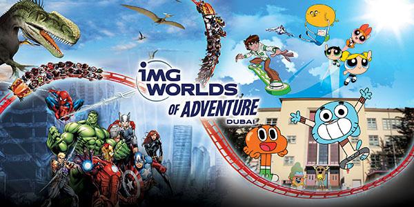семейные развлечения в дубаи IMG World of Adventure