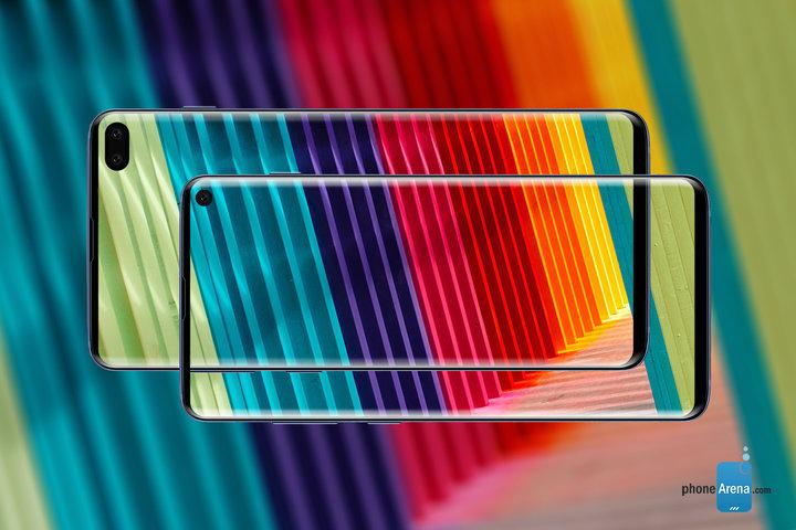Samsung S10 и s10+ фото