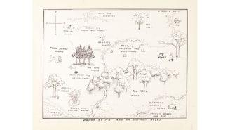Карта Винни Пуха