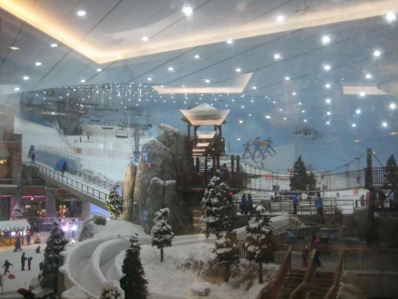 зима в дубаи Ski Dubai