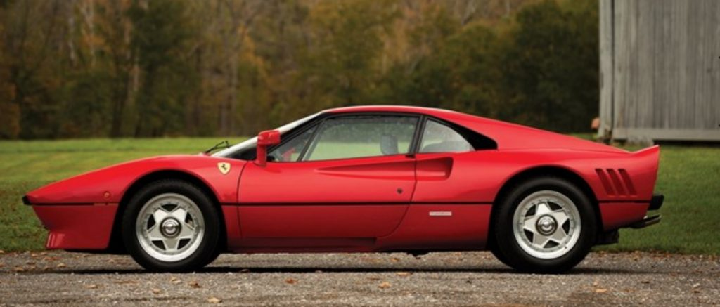 обзор Ferrari 288 GTO