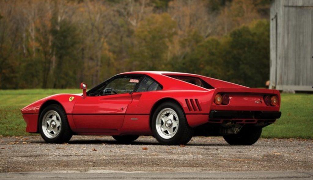 характеристики Ferrari 288 GTO