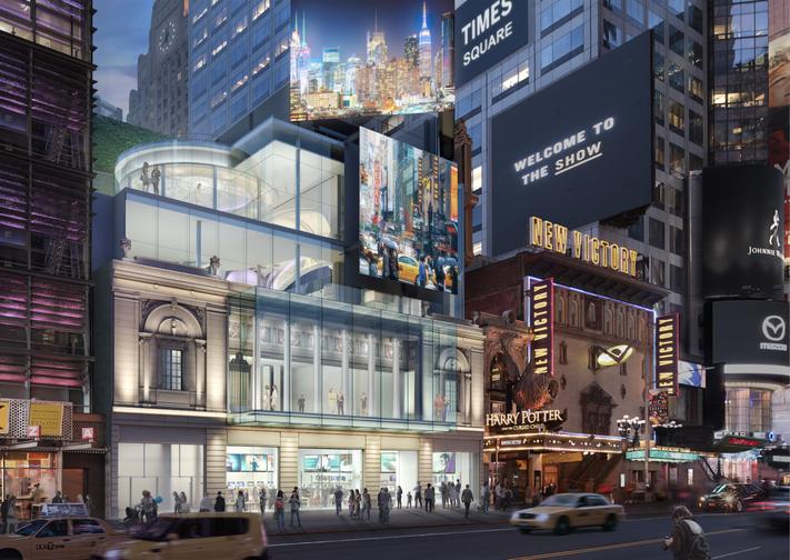 Театр Таймс-сквер, Нью-Йорк