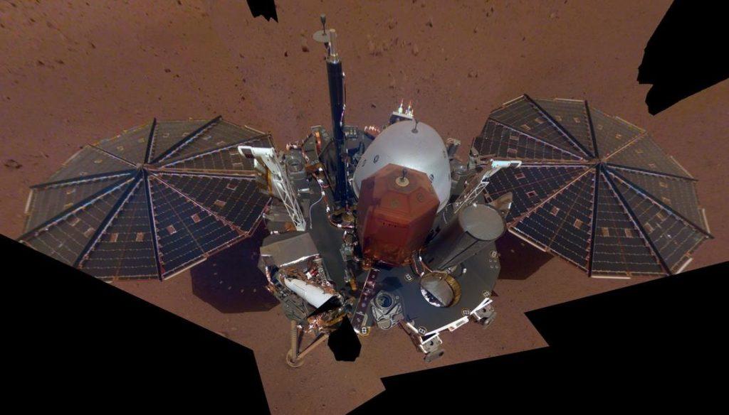 поверхность Марса фото