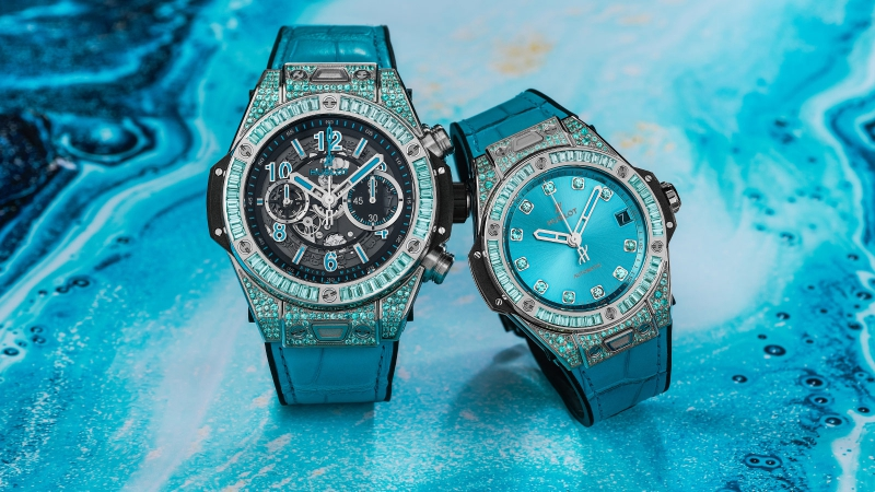 Hublot Big Bang Unico Paraiba и Big Bang One Click Paraiba