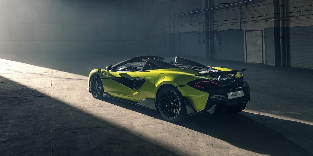 McLaren 600LT Spider характеристики и обзор