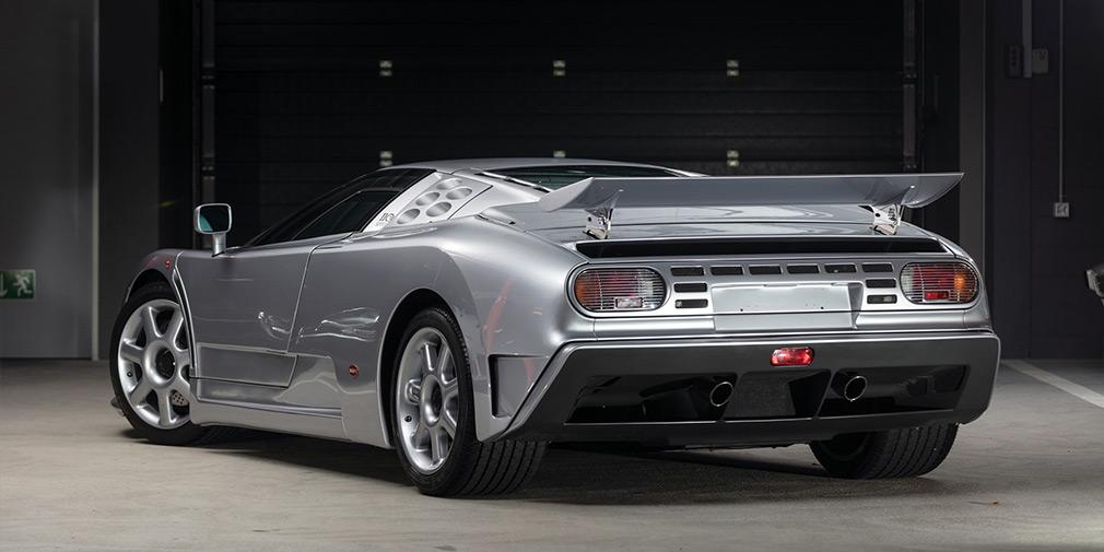 Bugatti EB110 SS продажа