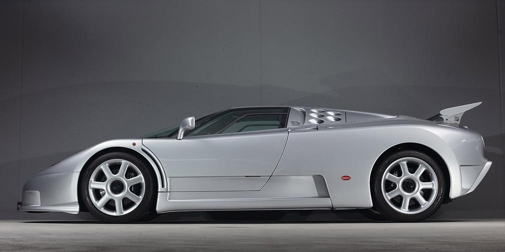 Bugatti EB110 SS фото