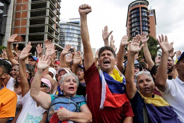 переворот в Венесуэле