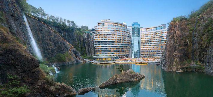 Отель Под Землёй InterContinental Shanghai Wonderland