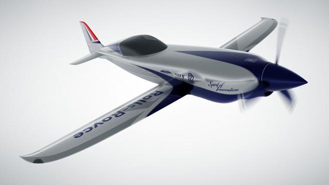 Rolls-Royce построит электрический самолёт