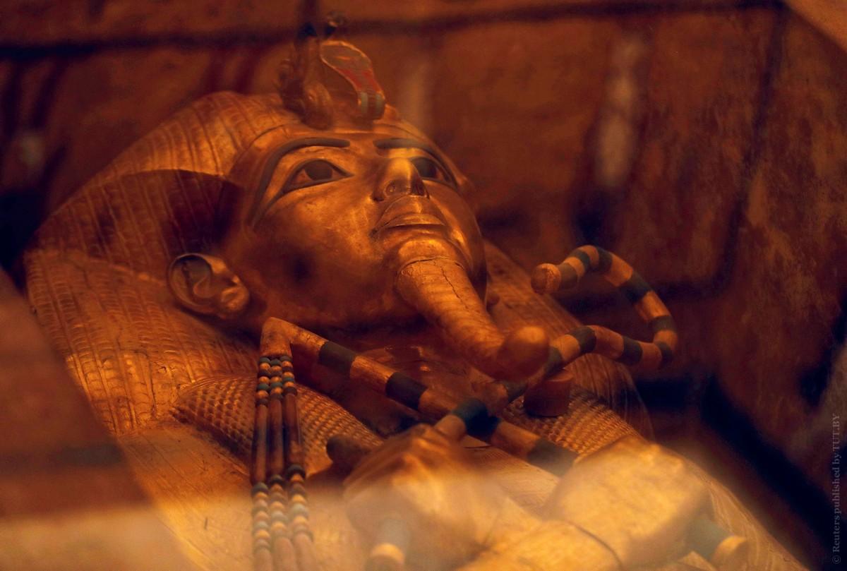 Фото гробницы Тутанхамона после реставрации