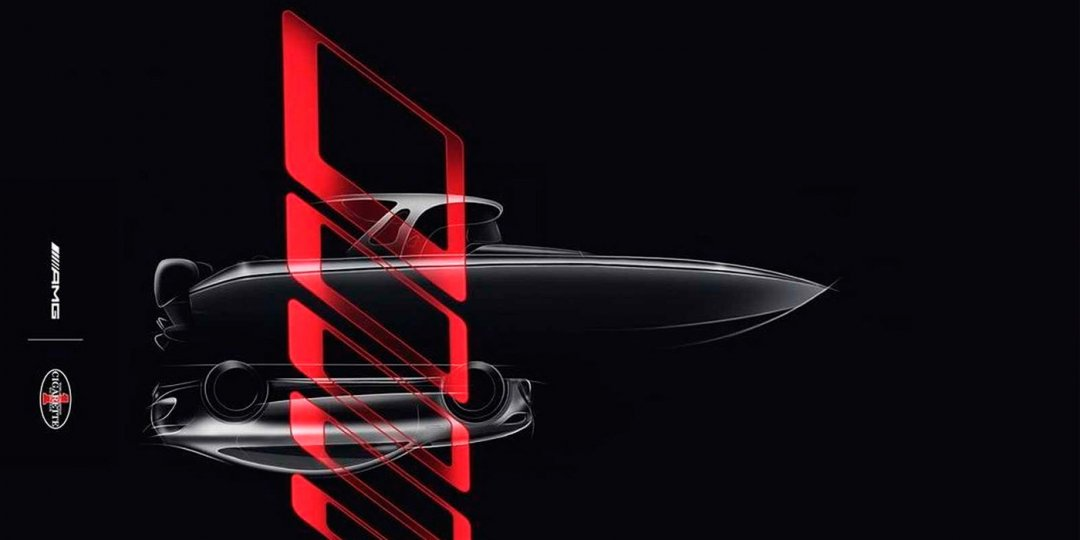 лодка Mercedes-AMG