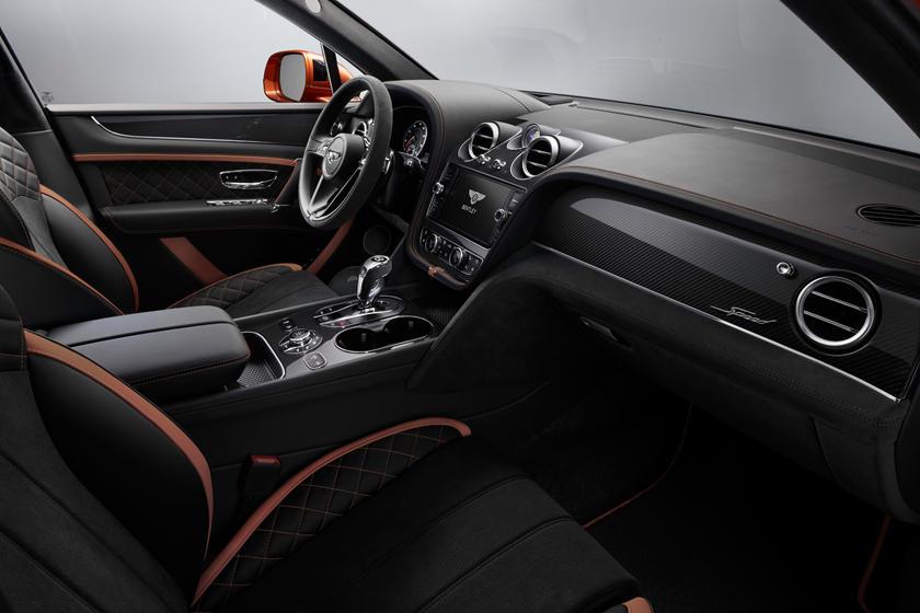 интерьер Bentley Bentayga Speed