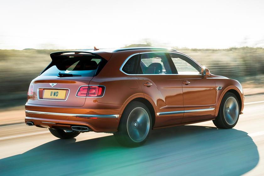 обзор Bentley Bentayga Speed