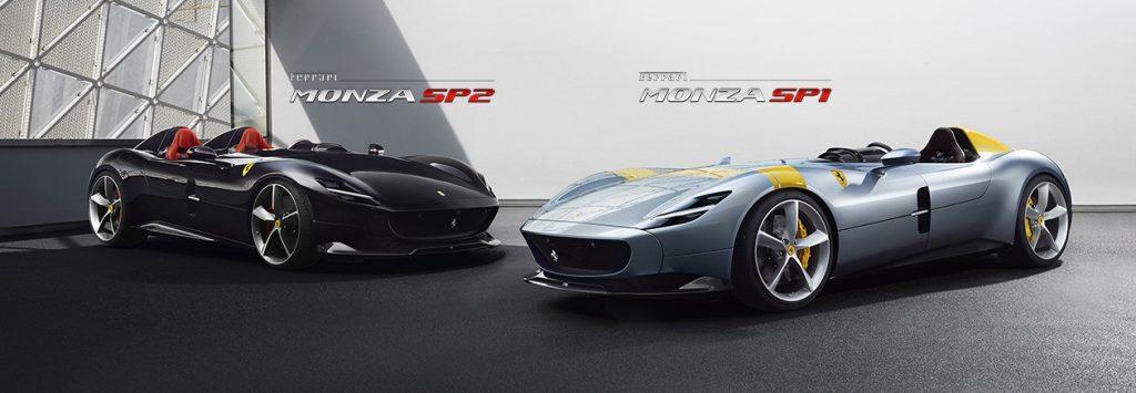 Ferrari на своём официальном канале в YouTube опубликовали видео SP1 и SP2.