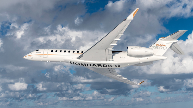 Bombardier Global 7500 обзор