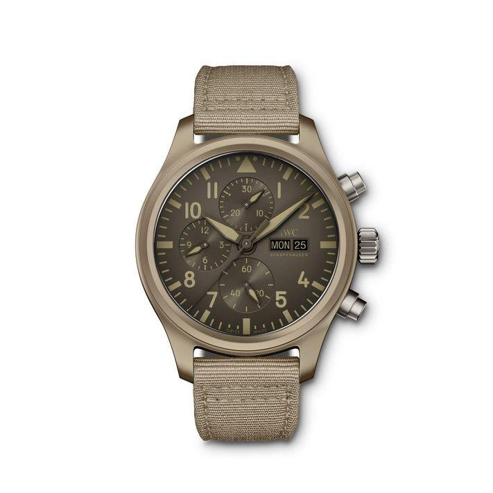 "часы IWC Pilot's Watch Chronograph Top Gun Edition ""Mojave Desert"""