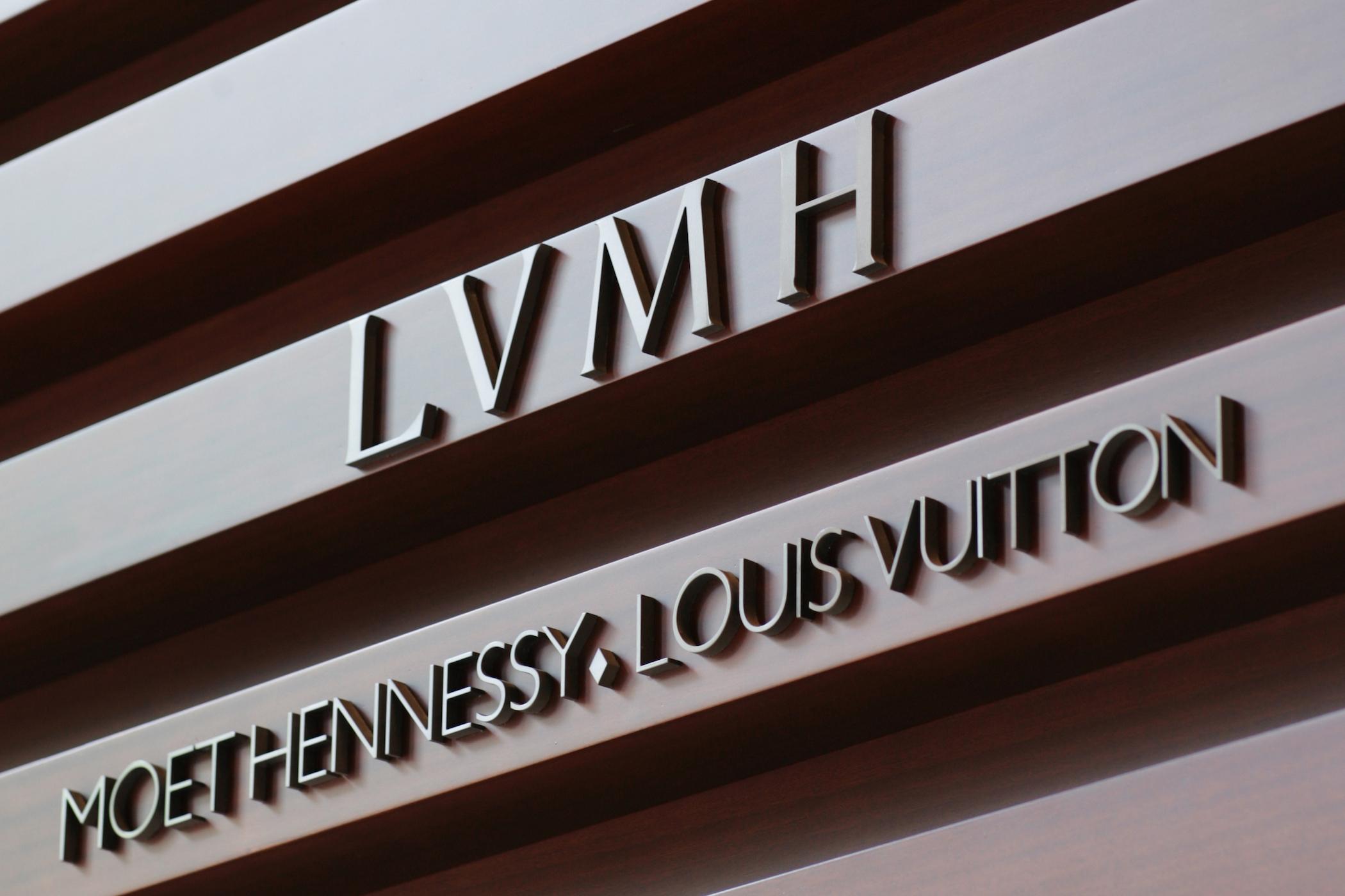 Продажи LVMH