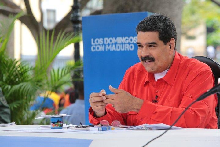 интервью с Мадуро