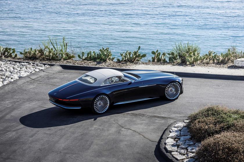 обзор Vision Mercedes-Maybach 6 Cabriolet