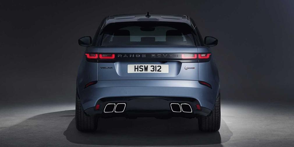 характеристики Range Rover Velar