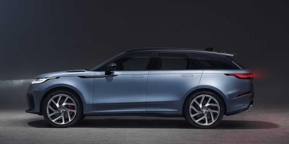 Range Rover Velar обзор