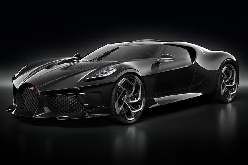 гиперкар Bugatti La Voiture Noire