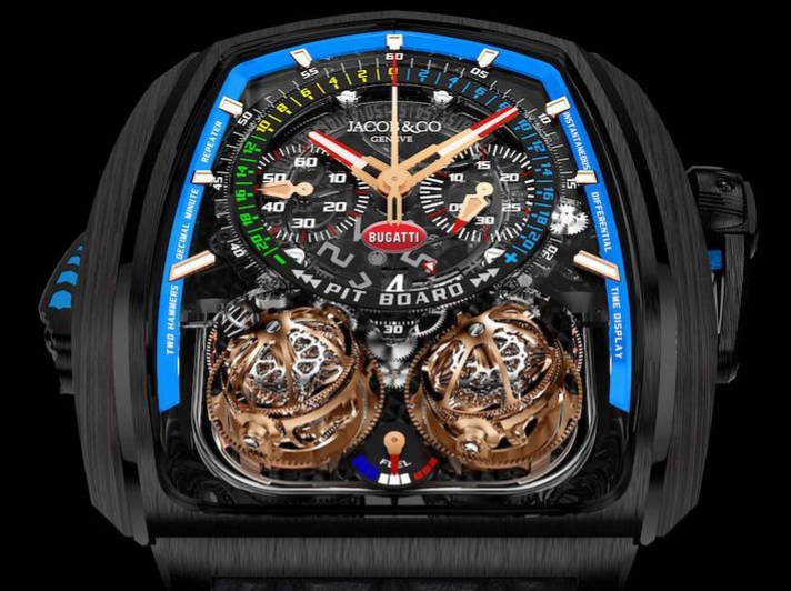 Jacob&Co Twin Turbo Furious Bugatti Watch