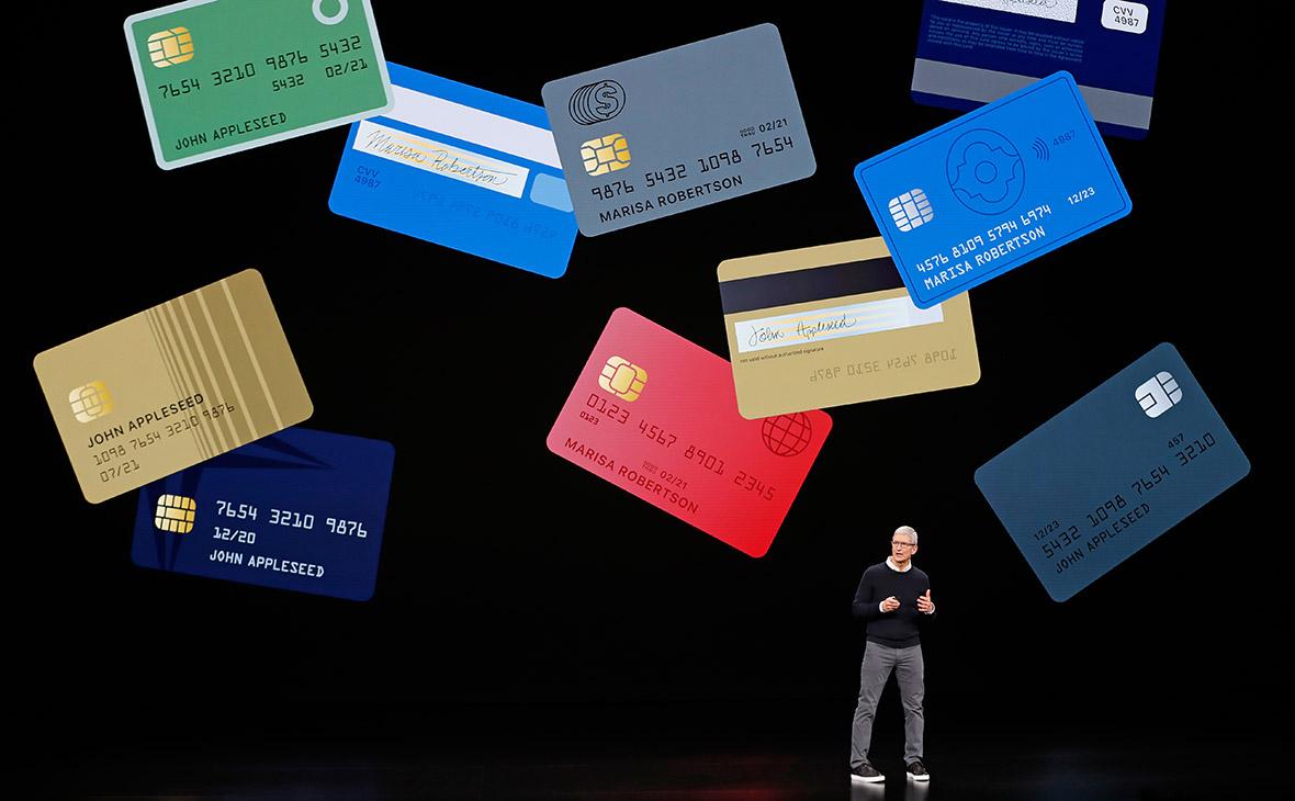 Apple запускает кредитную карту