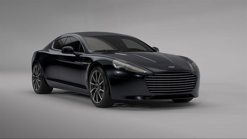 электрокар от Aston Martin