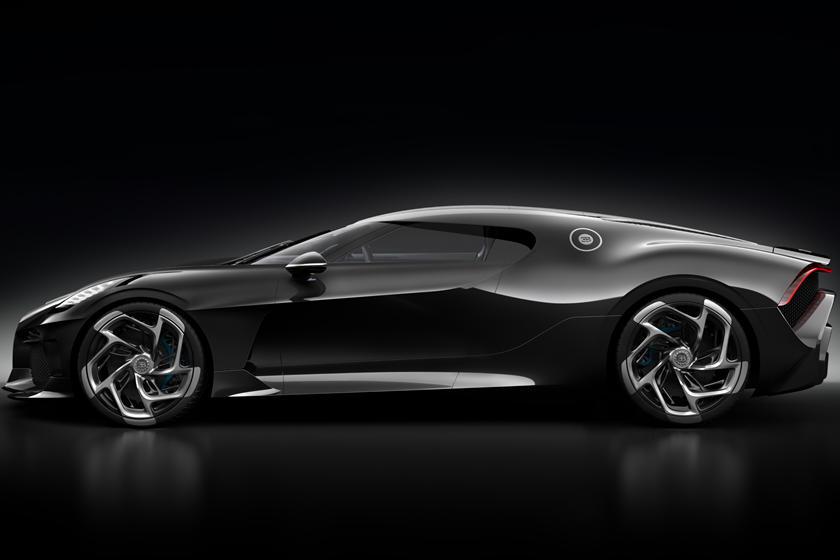 Bugatti La Voiture Noire стоимостью 18 миллионов