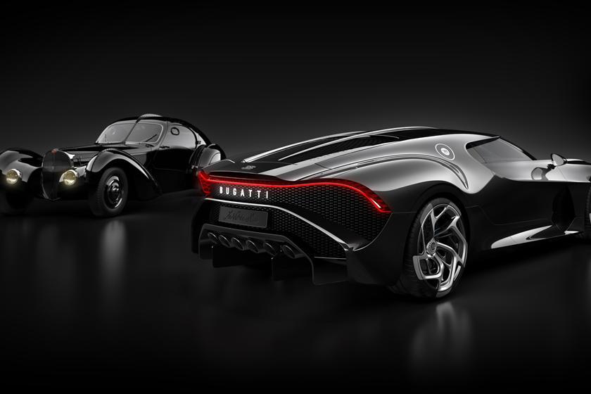 Bugatti La Voiture Noire и его прародитель