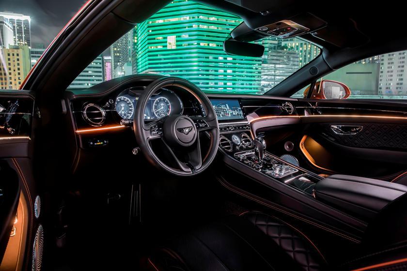 интерьер Bentley Continental GT V8
