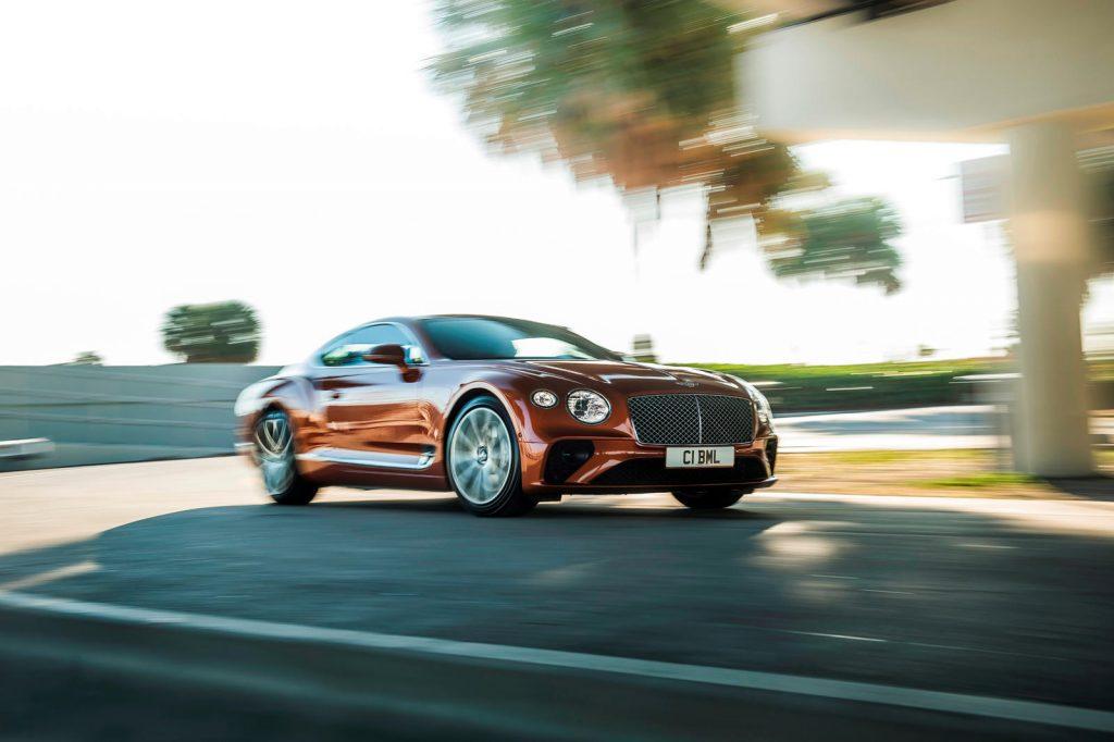 обзор Bentley Continental GT V8