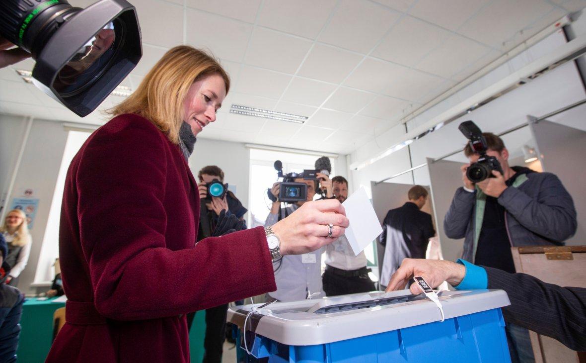 В Эстонии прошли парламентские выборы