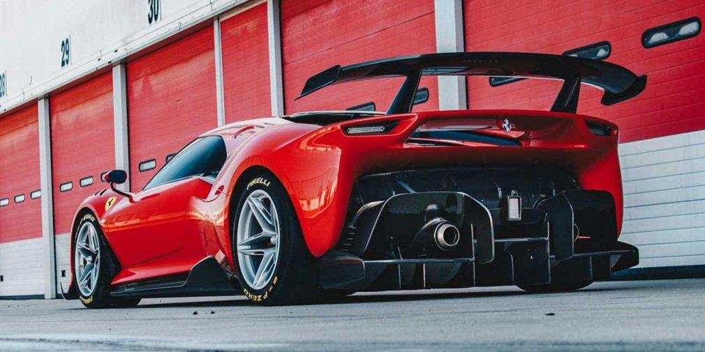 характеристики Ferrari P80/C
