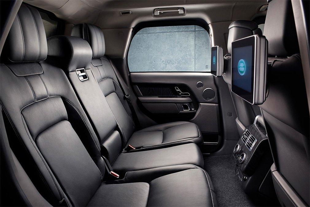 внутри Range Rover Sentinel