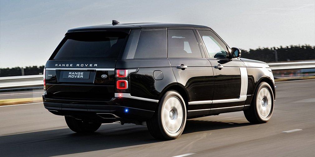 обзор Range Rover Sentinel