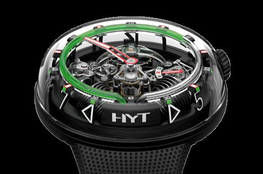 Необычные часы HYT H2O