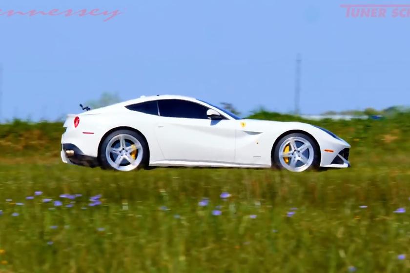 Hennessey взялись за Ferrari F12